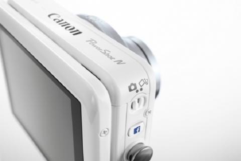PowerShot N Facebook, la cámara social de Canon