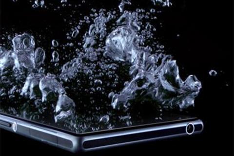 El Sony Honami... ¿resistente al agua?
