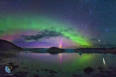 Contempla las auroras boreales en directo vía webcam
