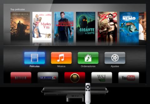 Apple prepara línea de televisores