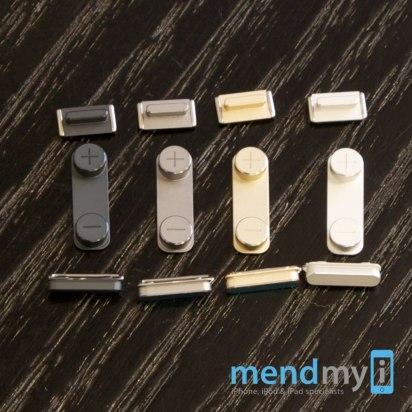 Botones del iPhone 5S