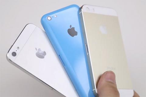 iPhone 5S y iPhone 5C, en vídeo