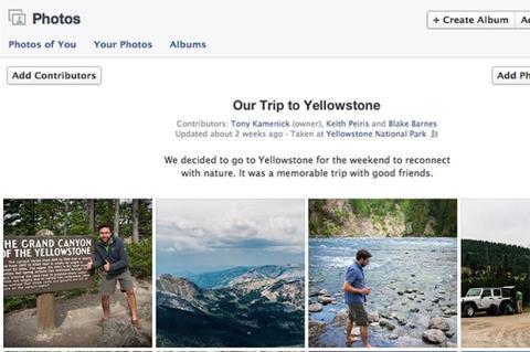 Facebook anuncia nuevos álbumes compartidos