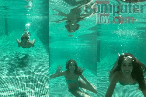 Active fotos debajo del agua