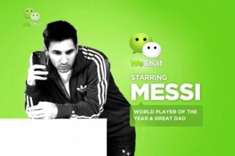 Messi para WeChat