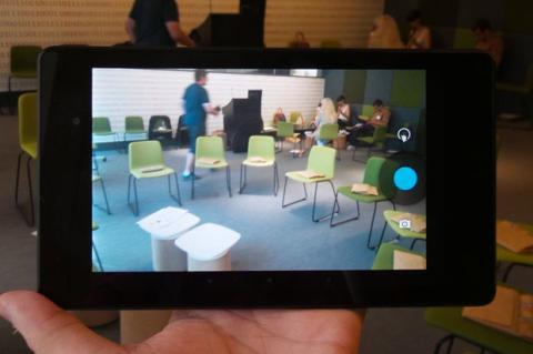 Cámara nueva Nexus 7