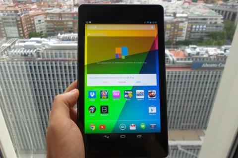 Pantalla nueva Nexus 7
