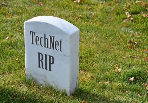 fin de technet