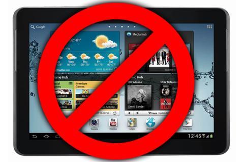 """Samsung reduce órdenes de componentes para tablets de 10"""""""