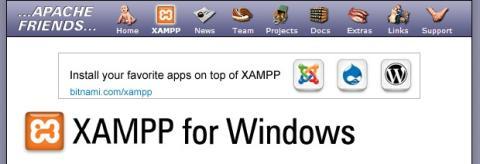 Descarga XAMPP