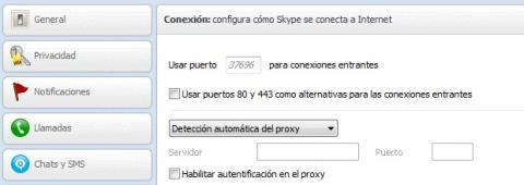 Conflicto de puertos con Skype y Xampp