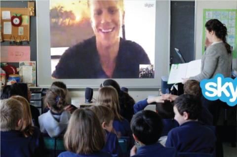 Skype en las escuelas