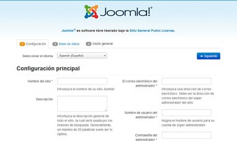 Instalador de Joomla