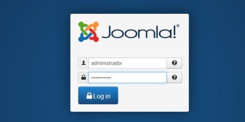 Ingresa al panel de Joomla