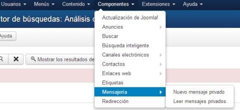 Componentes de Joomla