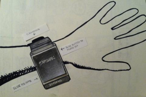 Prototipo Samsung Galaxy Gear