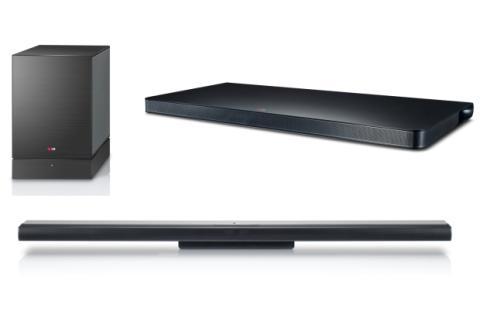 Barras y bases de sonido de LG en IFA 2013