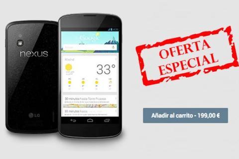 nexus 4 oferta