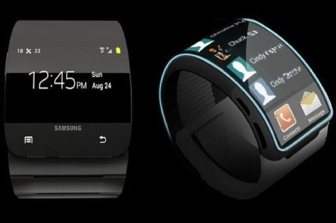 Supuesto Samsung Galaxy Gear podría conectarse al iPhone 5