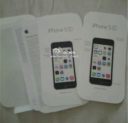 Embalaje iphone 5c