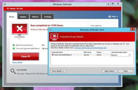 Qué debemos saber de Windows Defender para Windows 8