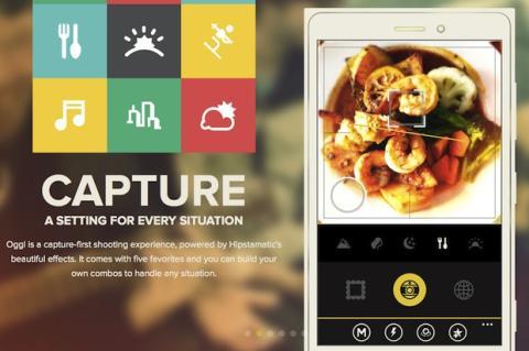 Aplica filtros y efectos a las fotos de tu móvil con Oggl