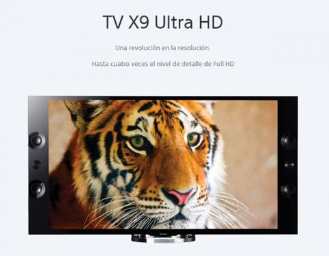 TV X9 Ultra HD sony
