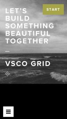 Crea tu cuenta en VSCOcam