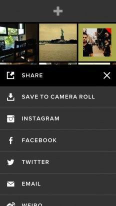 Comparte tus imágenes en VSCOcam