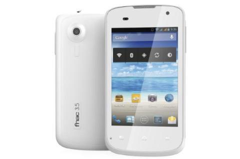 Smartphone FNAC 3.5 el 9 de septiembre, libre, por 110 €