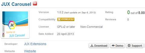 Instalar nuevo módulo en Joomla
