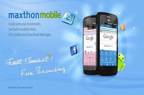 Maxthon será el navegador de nuevos smartphones en 2014