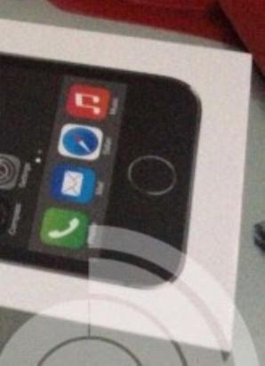 Lector de huellas iPhone 5S