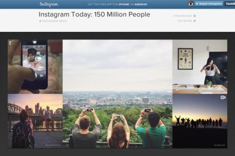 Instagram alcanza 150 millones de usuarios