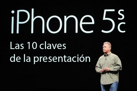 claves evento apple iphone 5s y iphone 5c