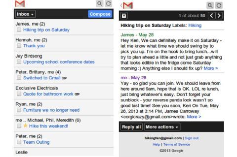 Google rediseña app de Gmail para móviles sencillos