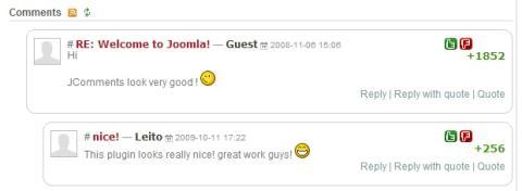 JComments para Joomla