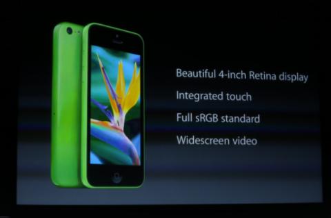 Presentacion iPhone 5C
