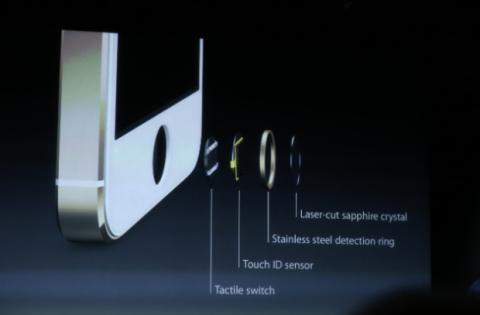 Sistema de identificación de huella dactilar Touch ID