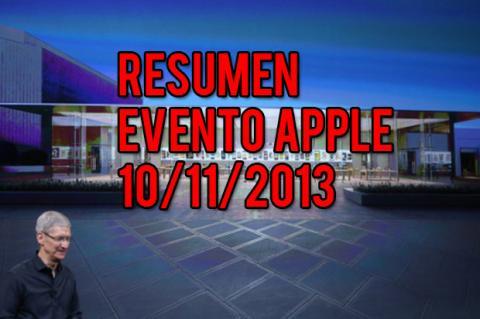 resumen presentacion apple