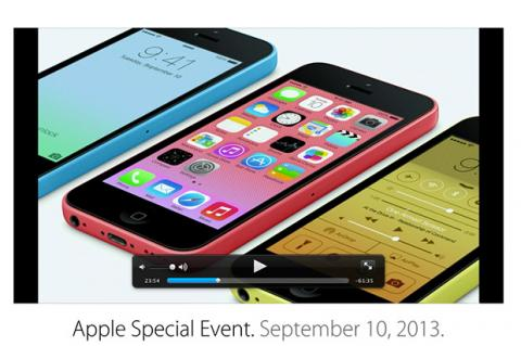 El vídeo completo de la presentación de Apple, en diferido