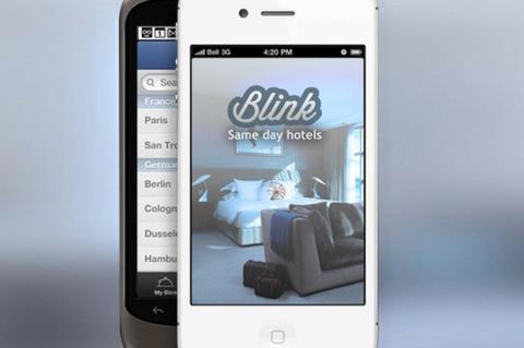 App de hoteles de última hora Blink