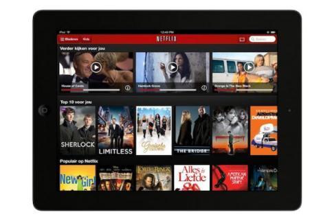 El servicio de Netflix ahora disponible en Holanda