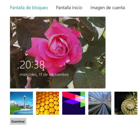 Imagen pantalla bloqueo