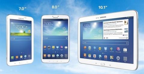 Familia Galaxy Tab 3