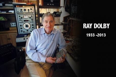 Ray Dolby 1933 - 2013