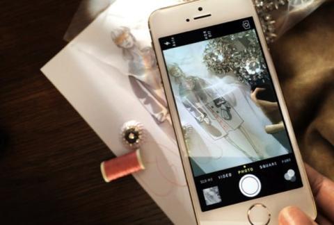 Burberry usará iPhone 5s para sacar fotos en desfile