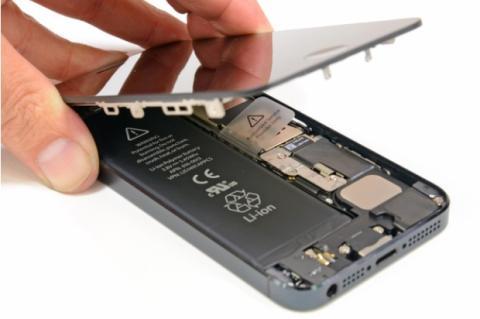 Convierte tu iPhone 5 en un iPhone 5S. Foto: iFixit