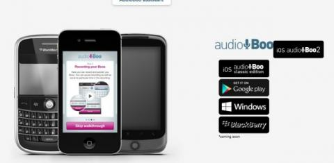 Descarga e instala AudioBoo