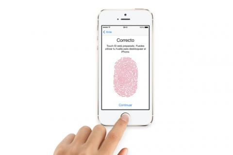 Touch ID smartphone